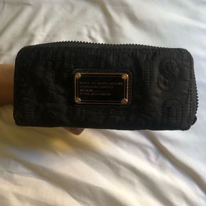 Marc By Marc Jacobs nylon wallet.